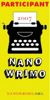 NaNoWriMo 2007 icon