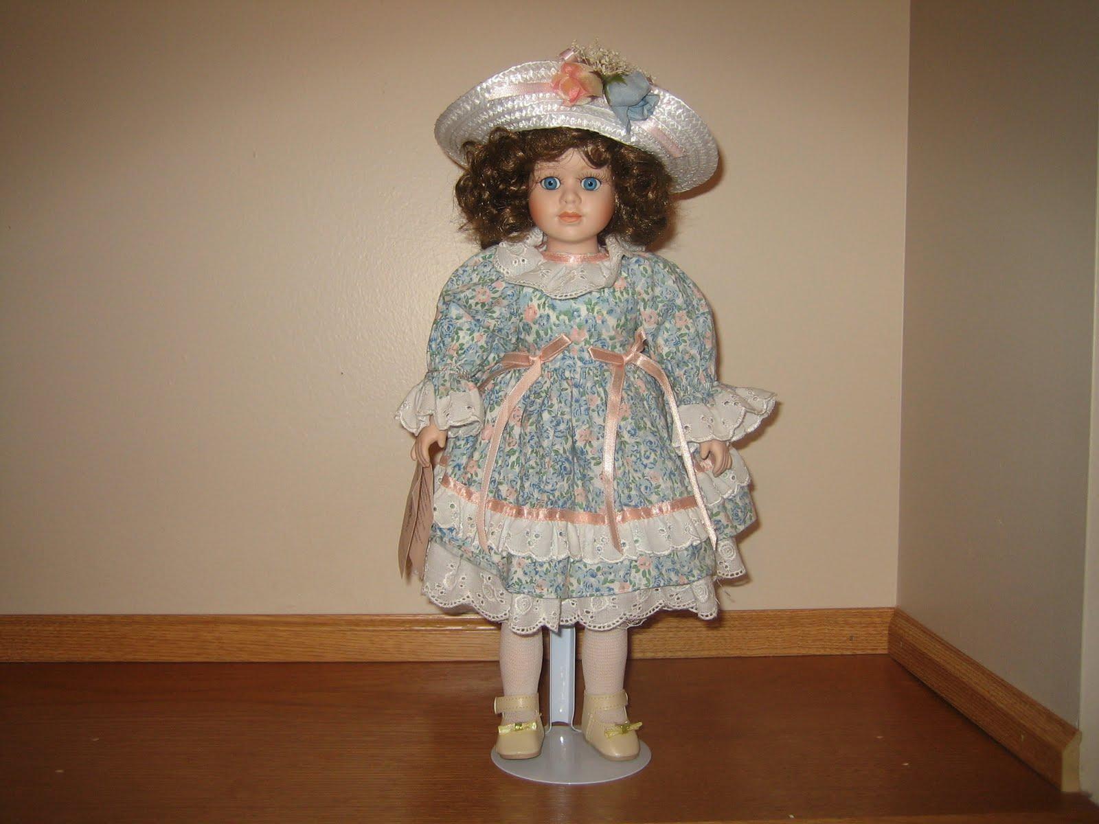 virtual garage sale bradley 39 s collectible porcelain doll