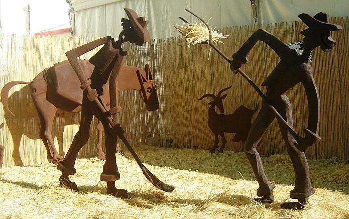 Proyecto escultórico Manuel Martín at Expo Cádiar foto: casa rural El Paraje