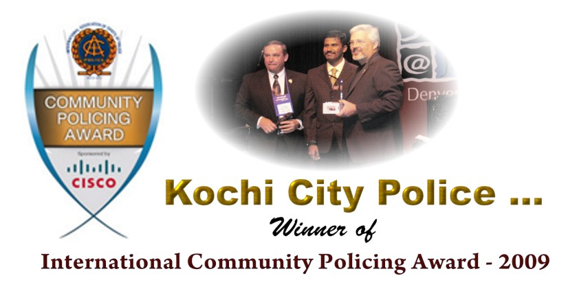 International Community Policing Award-2009