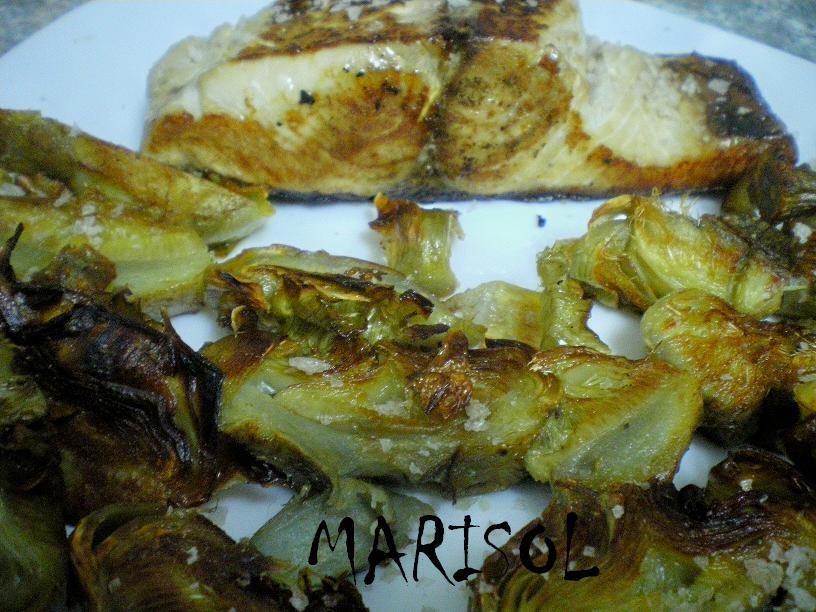 Cocina conmigo alcachofas confitadas y lomo de bonito for Cocinar a 80 grados