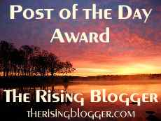 The Rising Blogger Award