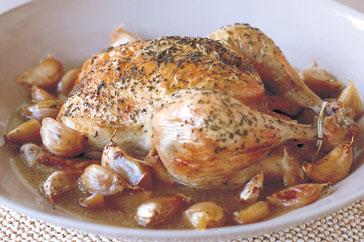 Recipes 40 clove garlic chicken