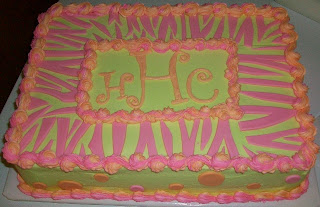 Creative Cakes and Other Sweet Treats Neon Zebra Print and Dots