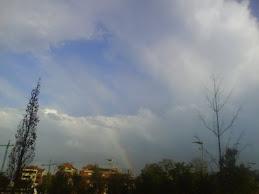 El arco iris en Lugones
