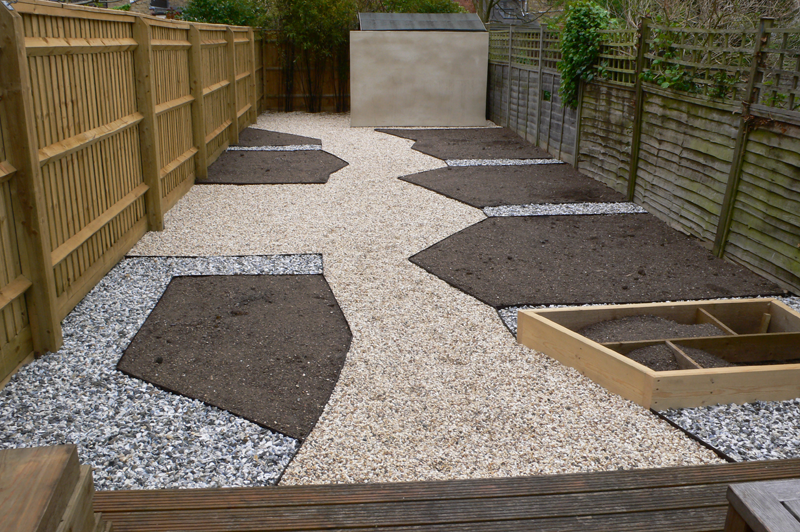 Rogue Designs Interior Designer Oxford Interior - gravel garden design