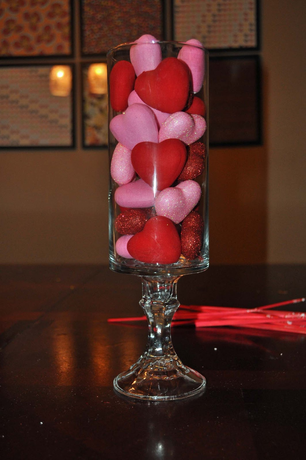 Darning Diva: Dollar Store Valentine's Day Decor