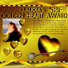 Scrapbook Flair Golden Heart Award: