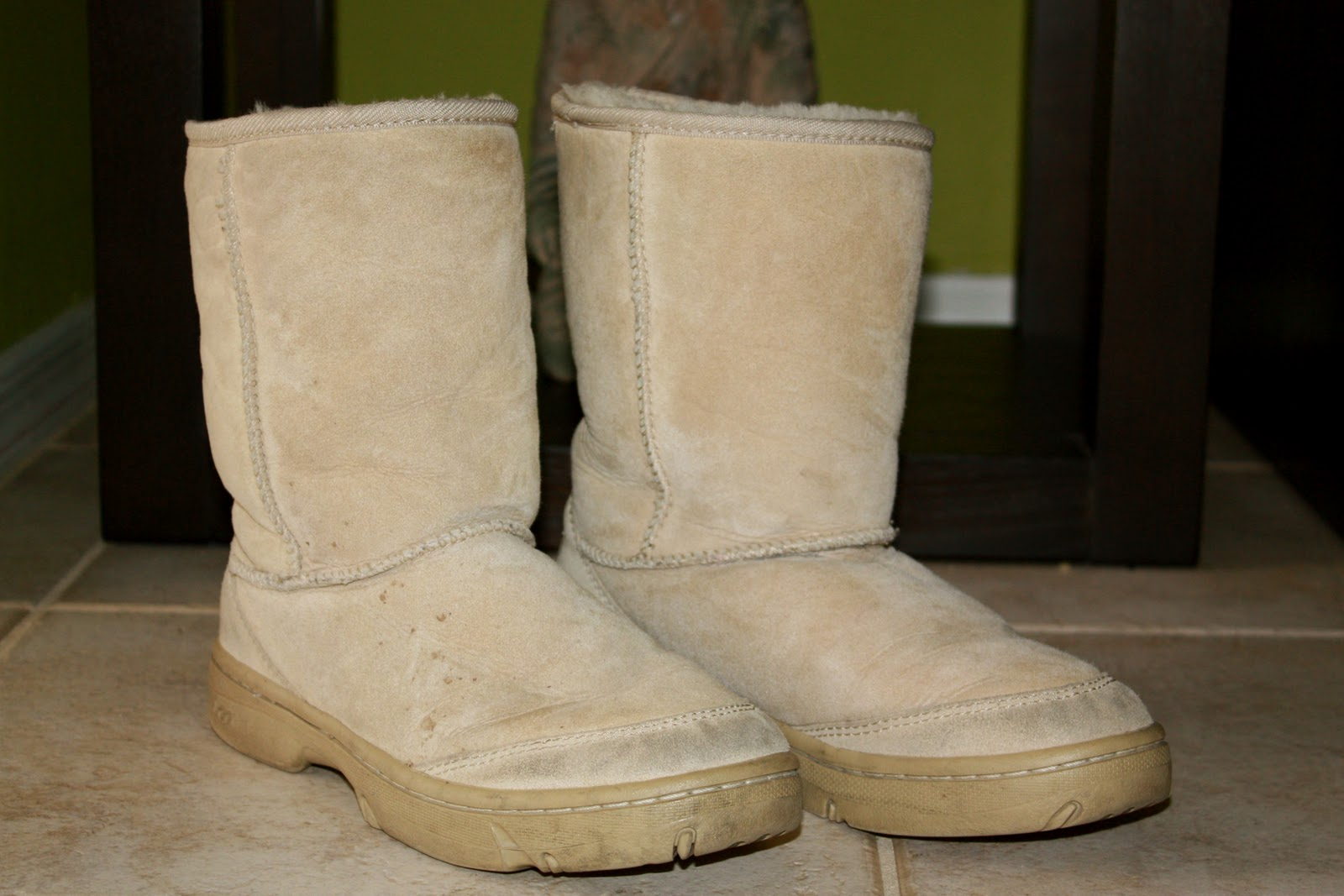 My UGG Boots Got Ugly!