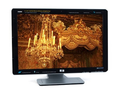 Famous Maker 25.5-inch Vivid Color Full HD Widescreen LCD Monitor