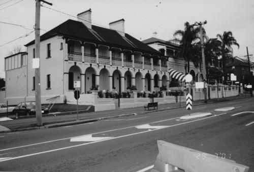 Your brisbane past and present o 39 keeffe 39 s building for Queensland terrace state library