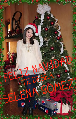 Selena Gomez Navidad