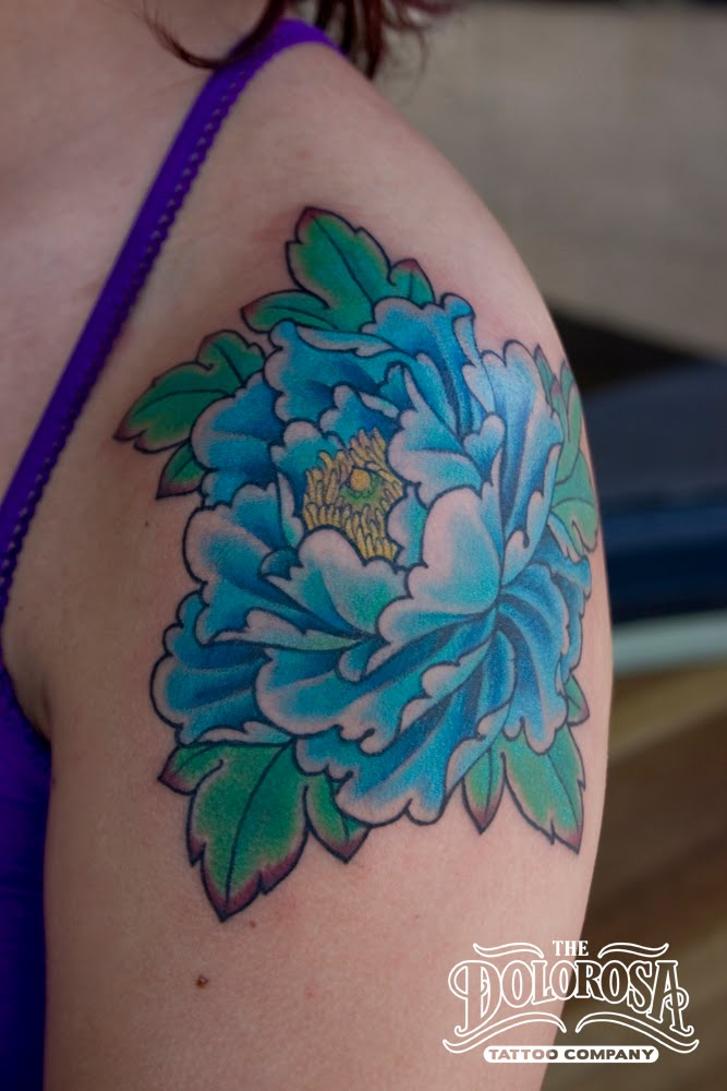 Got to bust out this peony tattoo for this girl 39s birthday