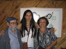 Maestro Carlos Donaire, Berni y Señora Victoria