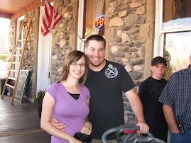 Greg & Megan in Cody.