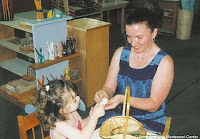 NAMC montessori teacher personal preparation development helping child