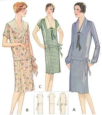 vintage pattern lending library 1920s dress 1920S Sewing Patterns