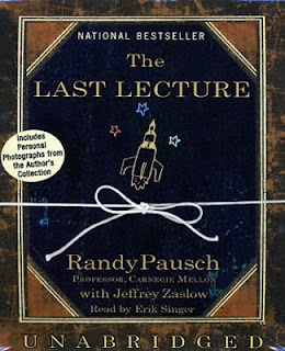 This is a picture of the book 'The Last Lecture'