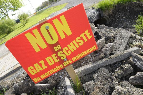 Non au gaz de schiste à Annecy