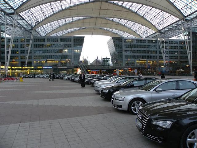 Audi A8 Munich Airport Demuinck Pardon