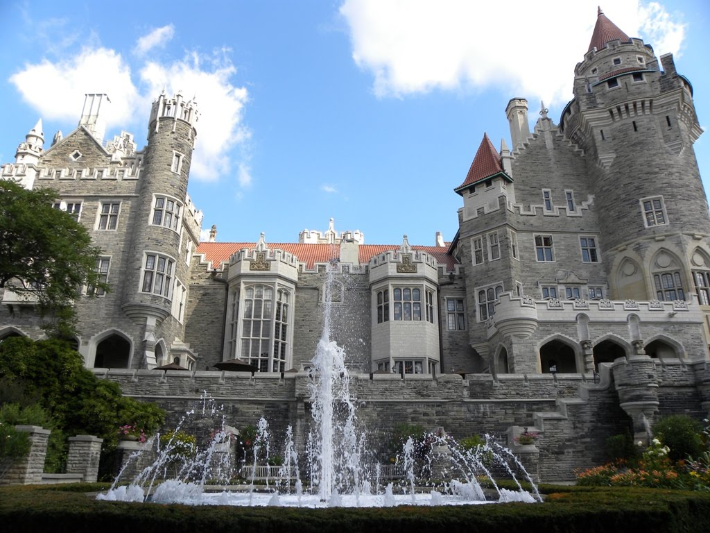 Exotic Travel Destinations Casa Loma A Fantastic Castle In Toronto