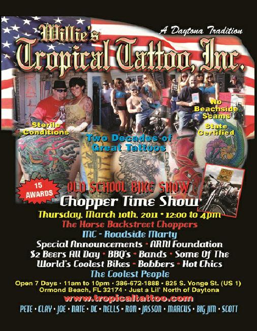 tropical tattoo. TFMW sponsers Tropical Tattoo
