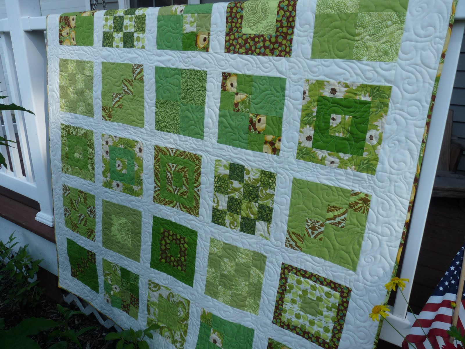 extra dsc quilt a behind irish luck happy also is started essentially of some quilting because for the special entire has my it quilty green meaning remake chain that quilts love