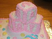Baby Bottle Shower Cake