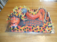 Chinese Dragon Birthday Cake