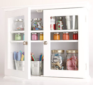 Helens Corner Crafts Storage Ideas Using Unexpected Items