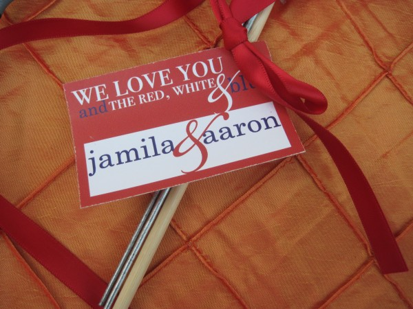 Fourth Of July Wedding Favors By Discount Sparklers Buy
