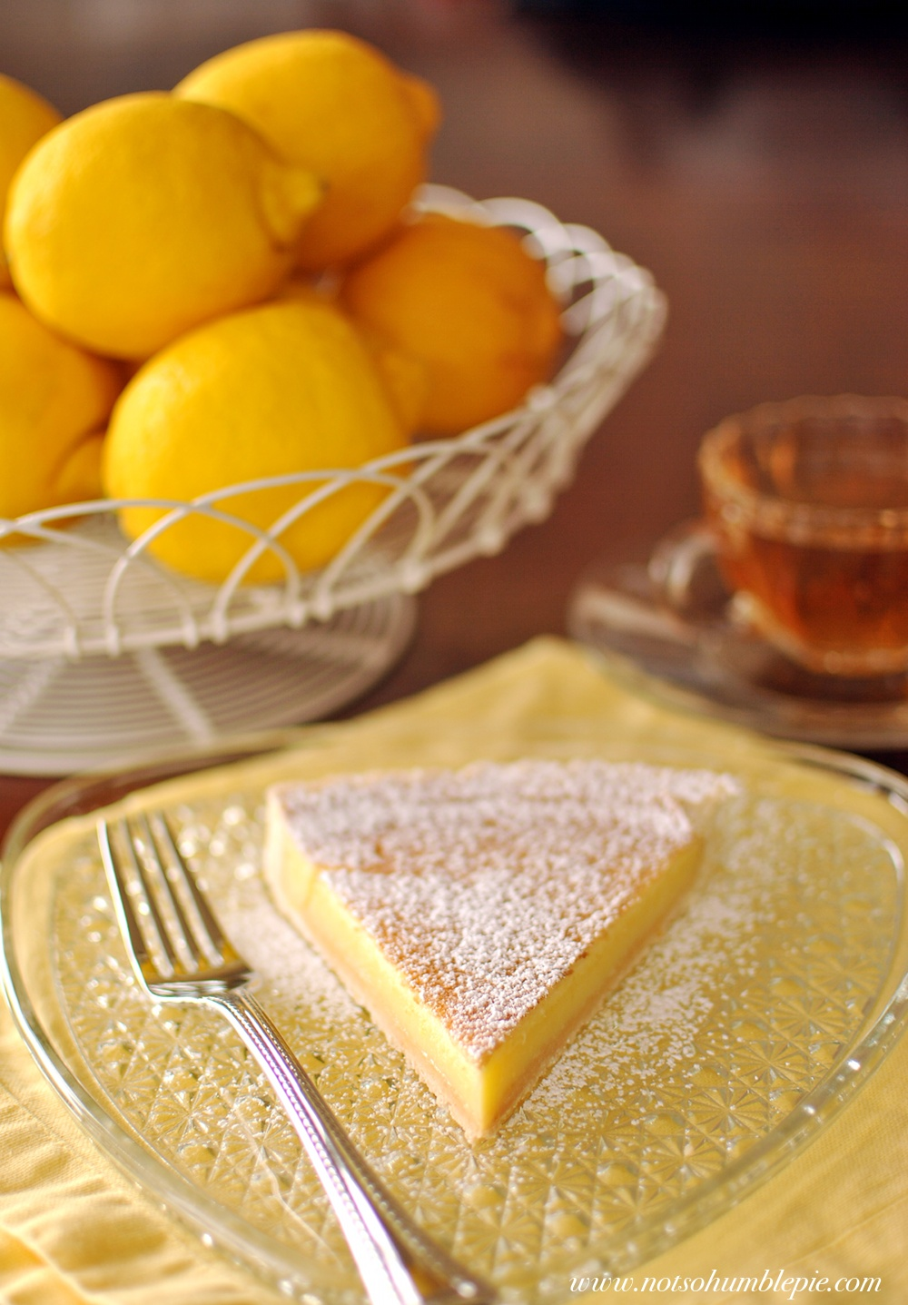 Not So Humble Pie: 'You Could Be In Paris' Lemon Tart