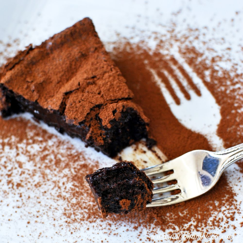 Not So Humble Pie: Ottolenghi's Chocolate Fudge Cake