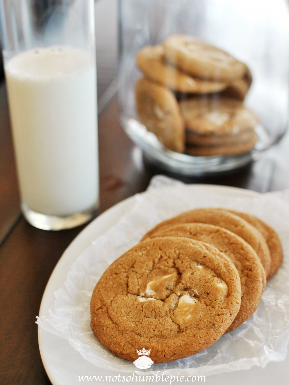 Not So Humble Pie: White Chocolate Butterscotch Cookies