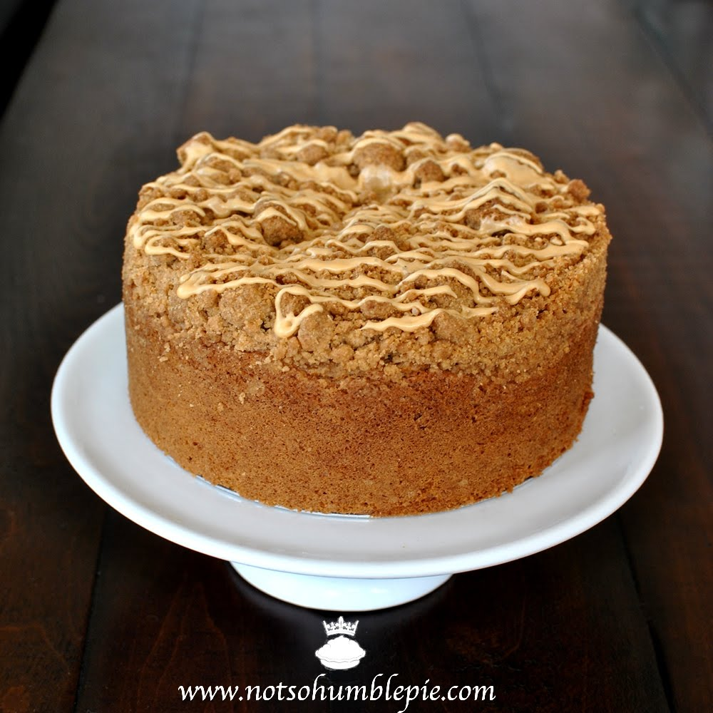 Not So Humble Pie: Dulce de Leche Coffee Cake