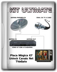 2mfneit KIT ULTIMATE – Plaquinha Mágica K7
