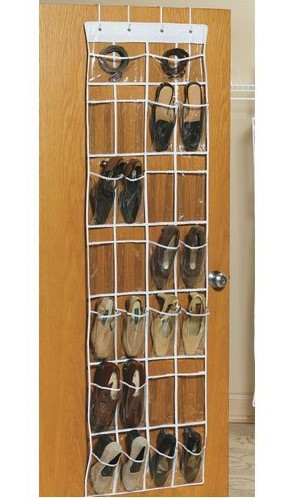 shoe organizer can hold