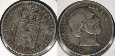[08+1851NetherlandsSilverOneGuldencoin.jpg]