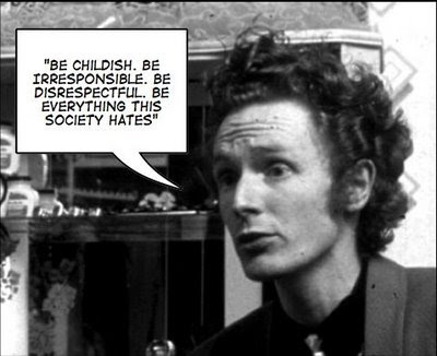 Malcolm McLaren and Situationism. | Tendance Coatesy