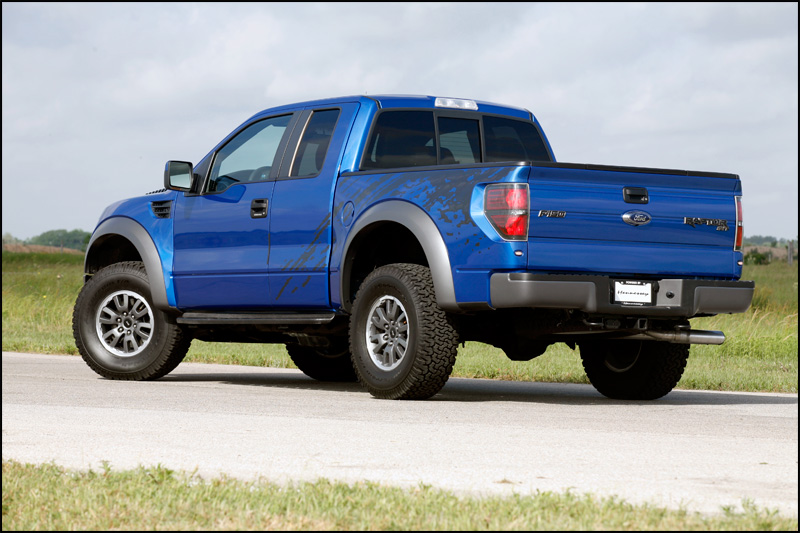 The new 6.2L V8 in Ford's F-150 Raptor truck may have only been out for a