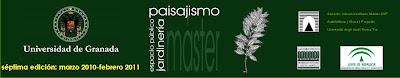 Master Paisajismo Granada