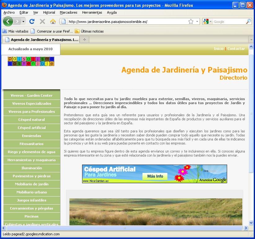 Mayo 2010 jardiner a y paisajismo paisajismo sostenible for Pdf jardineria y paisajismo