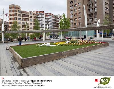 Jardín Bilbao