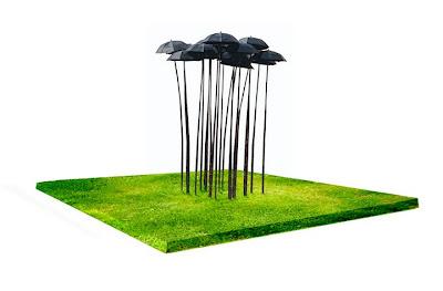 Bosque de paraguas
