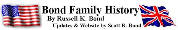 Bond Family History