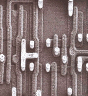 Electron Microscopy image of a silicon die