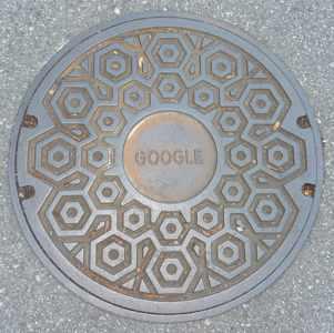 Google manhole cover