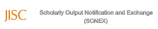 Scholarly Output Notification and Exchange (SONEX)