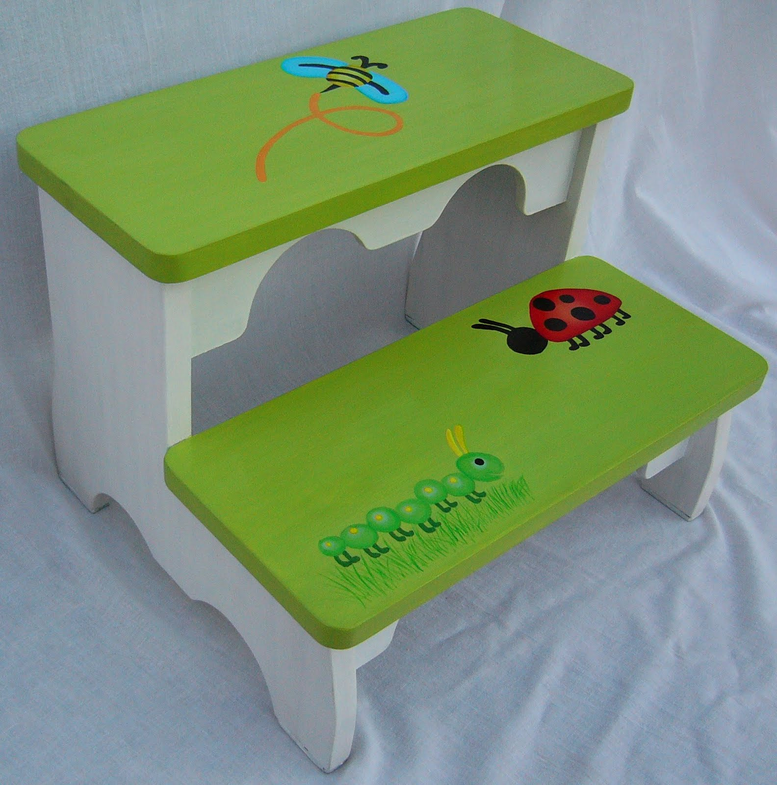 Muebles infantiles decoraci n para ni os juguetes tejidos manualidades cocina etc banquito - Muebles para juguetes infantiles ...