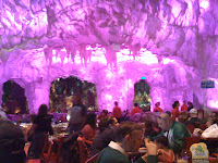 Ice Cave while pink